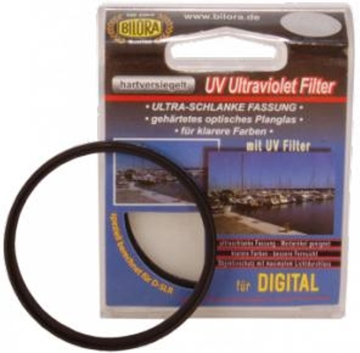 Bilora UV-filter standaard 62 mm