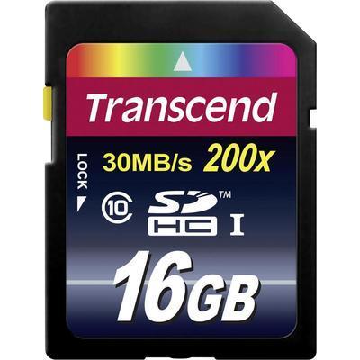 Transcend Premium SDHC-kaart 16 GB Class 10