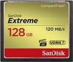 SanDisk Extreme CF-kaart 128 GB