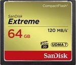 SanDisk Extreme CF-kaart 64 GB