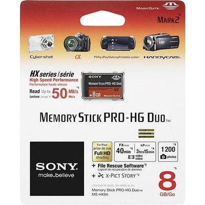 Sony Pro-HG Duo HX 8 GB Memorystick PRO Duo-kaart