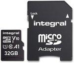 Micro-SDHC V10 100/mbs    32GB