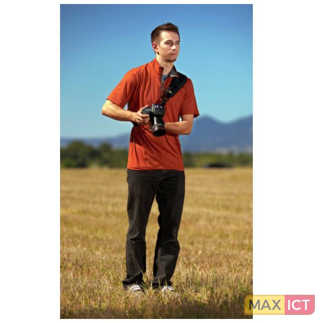 Case Logic Quick Sling. Geschikt voor: Digitale camera, Materiaal: Nylon, Kleur van het product: Zwart. Lengte (max): 36,6 cm, Breedte: 94 mm, Hoogte: 10 mm