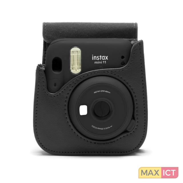 Fujifilm 1012735. Type etui: Compacte behuizing, Merkcompatibiliteit: Fujifilm, Compatibiliteit: Instax Mini 11, Schouderband, Kleur van het product: Kolen