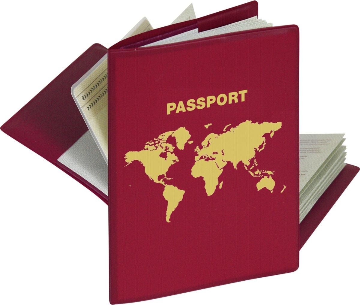 Herma RFID-Beschermhoes paspoort 1 Hoes met 2 binnenvakken 5549N