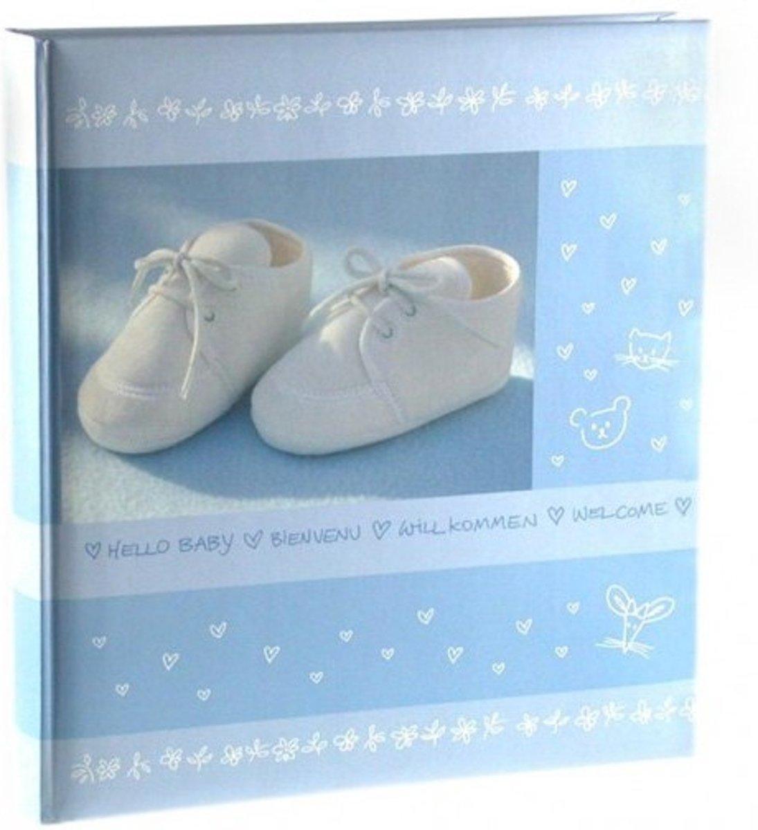 GOLDBUCH GOL-13099 Babyalbum BABYSHOES blauw als Fotoboek