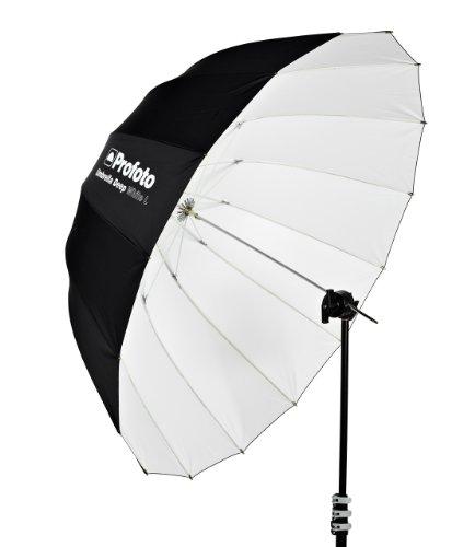 Paraplu Diep Wit - L 130cm