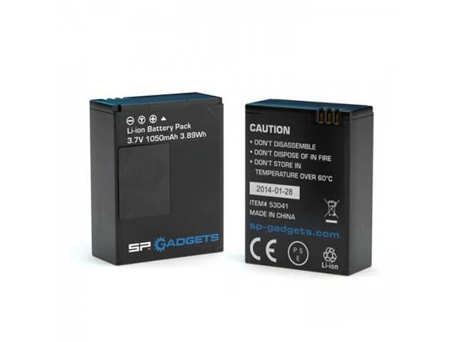 SP 2x Battery 3.8V voor SP POV Light