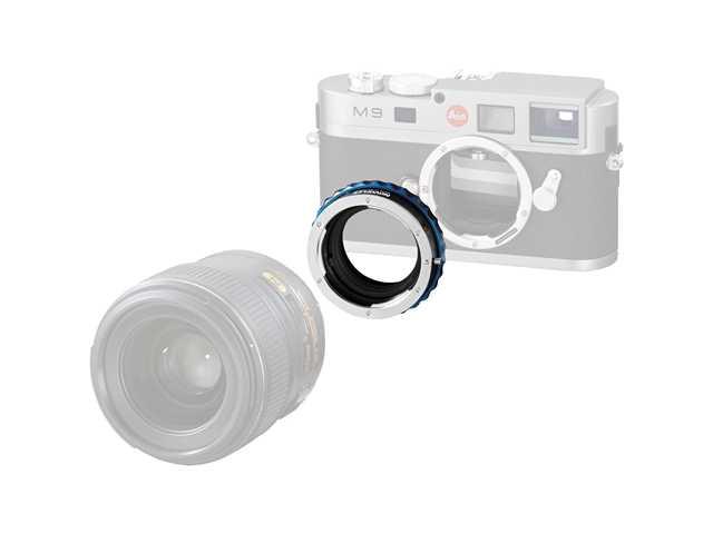 Novoflex Adapter Nikon obj. naar Leica M body diafragmafunktie