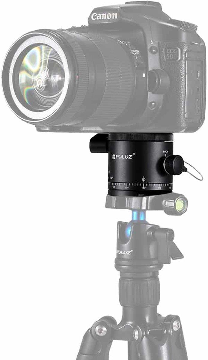 PULUZ Aluminium Panoramisch Indexering Rotator Balhoofd voor Camera Statiefkop