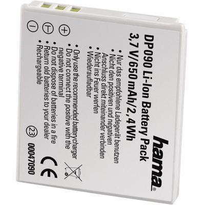 Hama Camera-accu Vervangt originele accu NB-4L 3.7 V 650 mAh