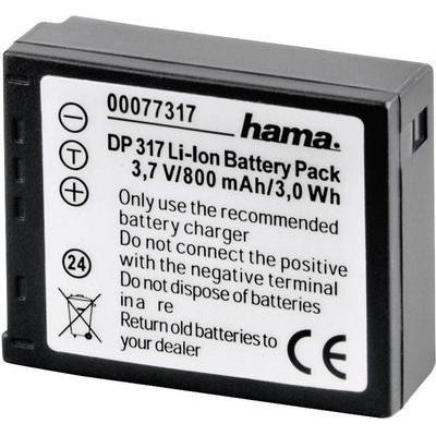 Hama Camera-accu Vervangt originele accu CGA-S007E 3.7 V 800 mAh