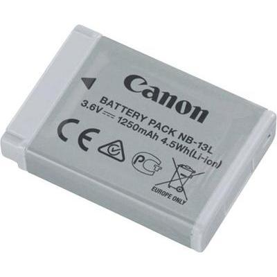 Camera-accu Canon NB-13L 3.6 V 1250 mAh