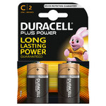 Duracell Plus Power C batterij 2-pack