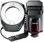 Ringflitser Walimex 18422 Richtgetal bij ISO 100/50 mm: 10