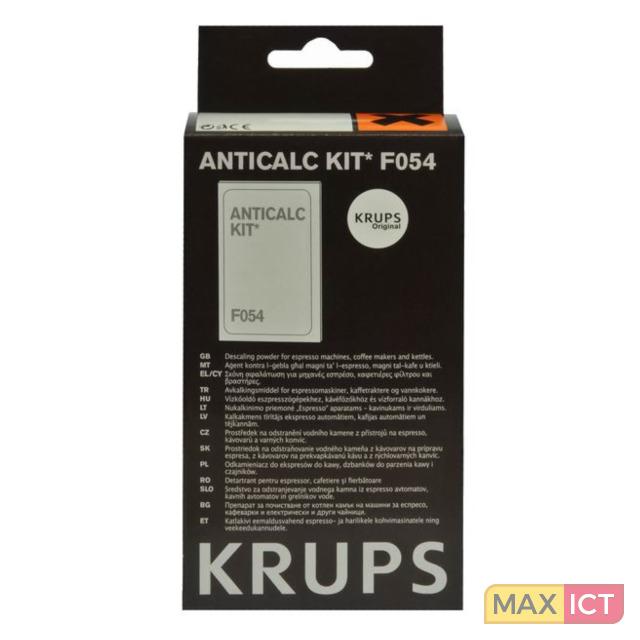 Krups Espresso Ontkalkingsset à 2 stuks F05400. Soort apparaat: Koffiemachines