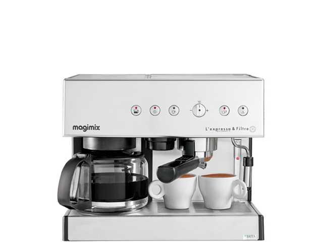 Magimix Espresso & Filtre Automatic