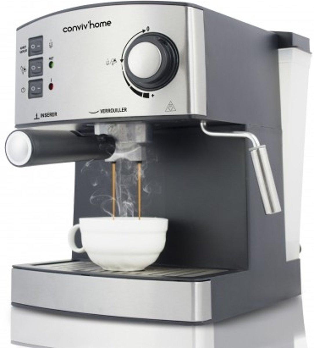 Techwood TCA-150EX Aanrechtblad Espressomachine 1,6 l