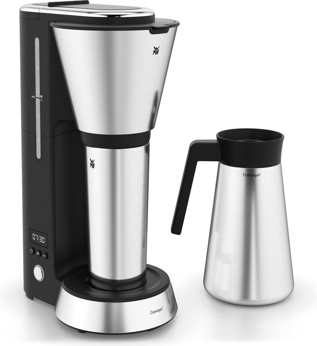 WMF K?CHENminis Aroma Thermo to go Koffiezetapparaat Zwart, Zilver Capaciteit koppen: 5