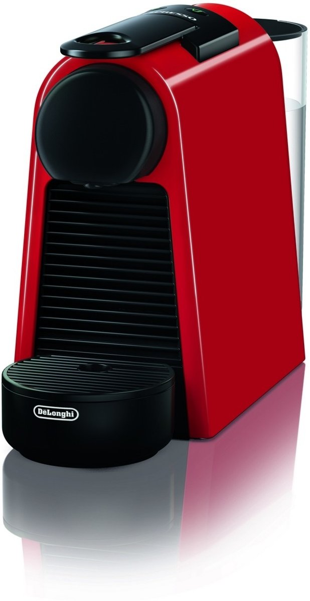 DeLonghi Essenza Mini EN 85.R - Koffiezetapparaat - Zwart/rood