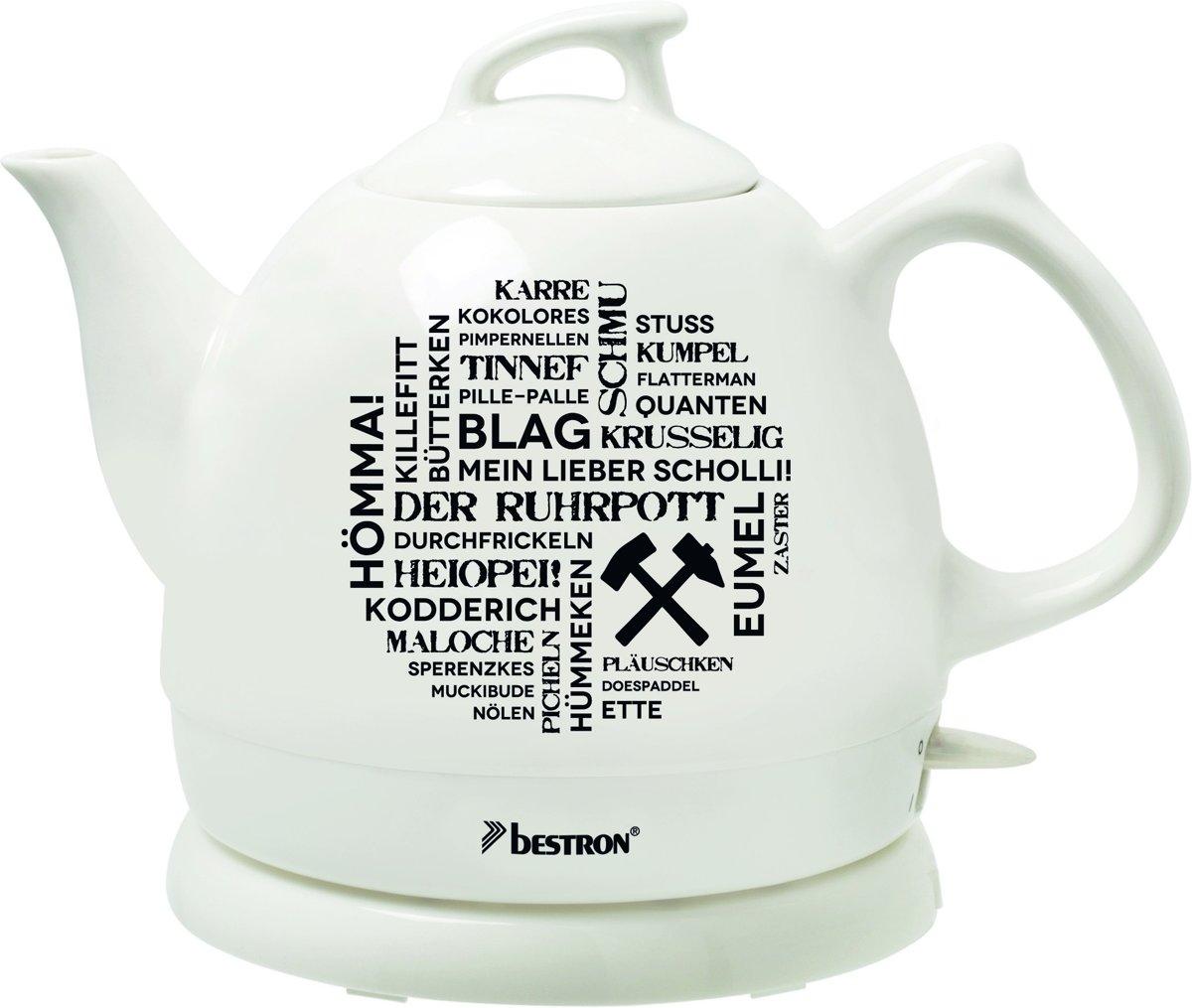 Waterk. 1785W 0.8Ltr keramische pot DTP800RP Der Ruhrpott