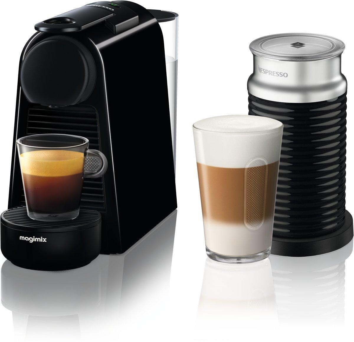 Magimix koffieapparaat Essenza + melkopschuimer (Zwart)