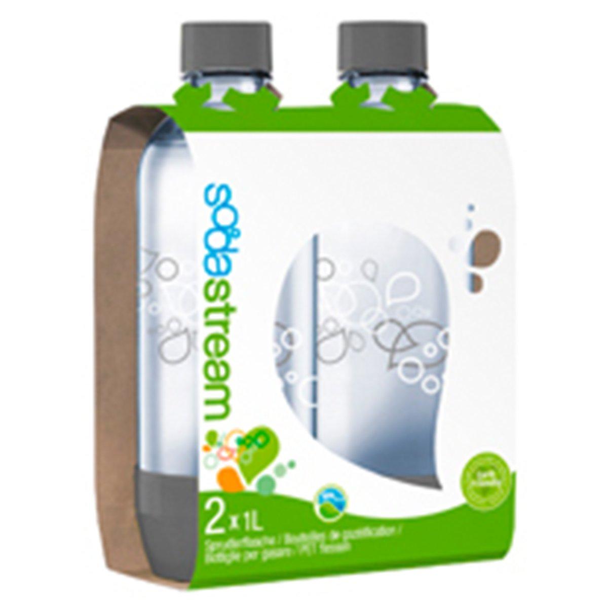 Sodastream Waterfilterkan Herbruikbare flessen - 2 flessen pack