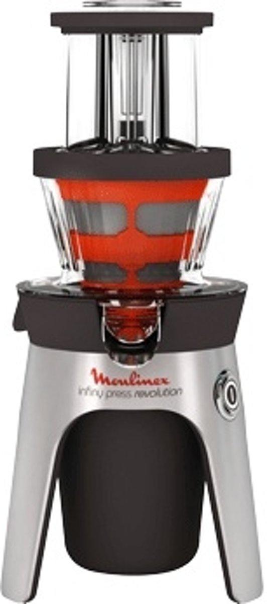 Moulinex ZU500A10 Sapcentrifuge 300W Zwart, Roestvrijstaal citruspers/sapmaker