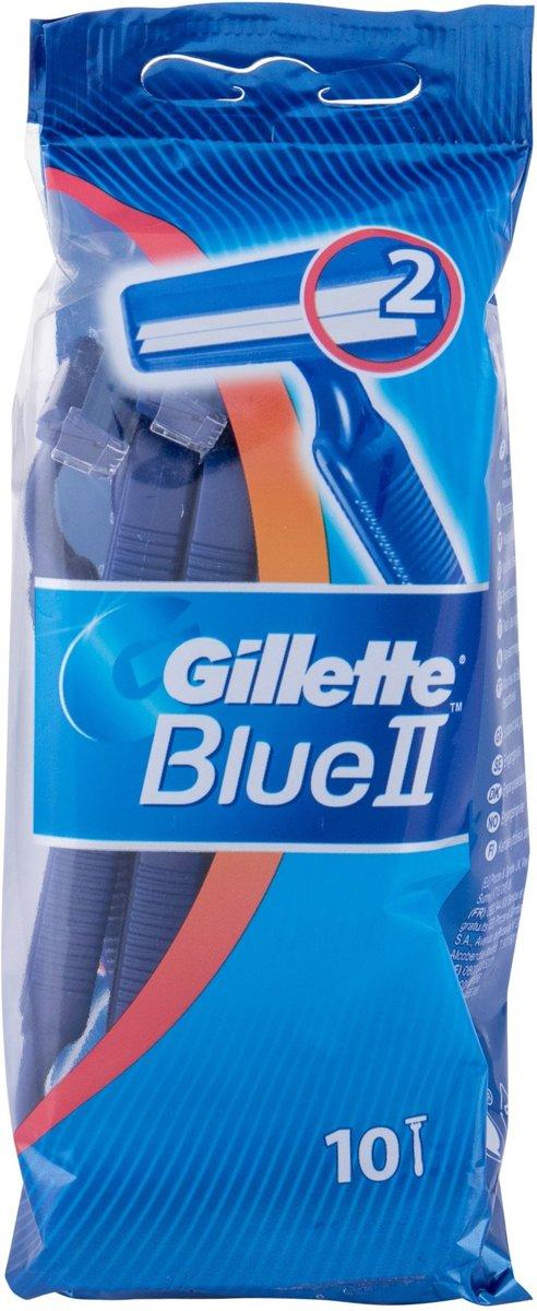 Gillette Blue II scheerapparaat voor mannen Blauw