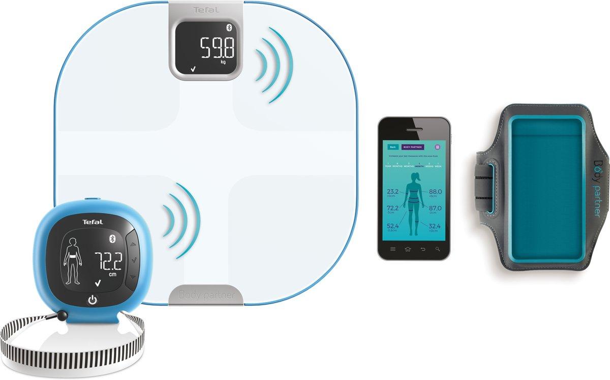 Tefal BM Body Partner Advances & Meter YD3094S1 - Personenweegschaal