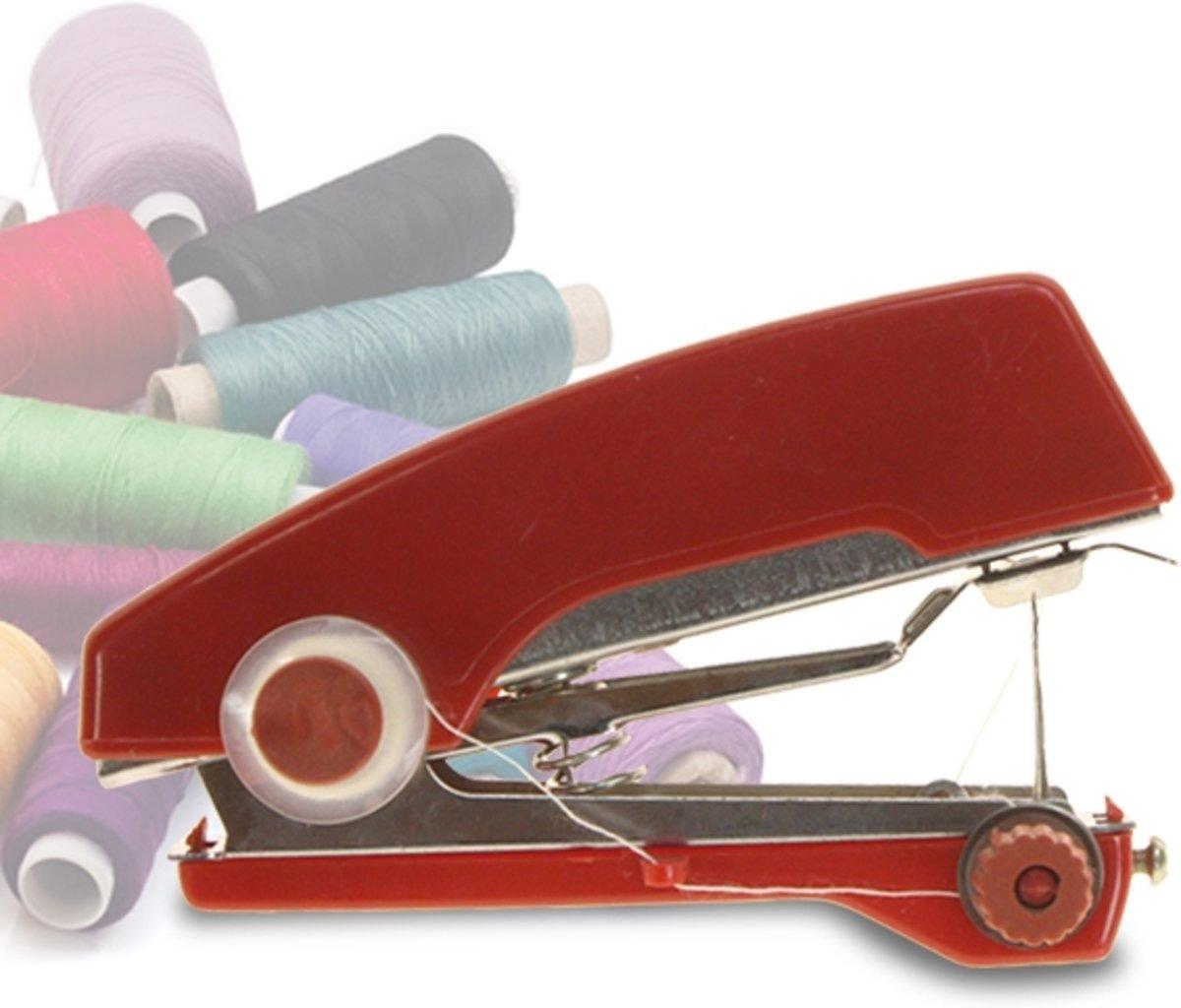 Mini hand naaimachine - ideaal voor op reis en kleine reparaties