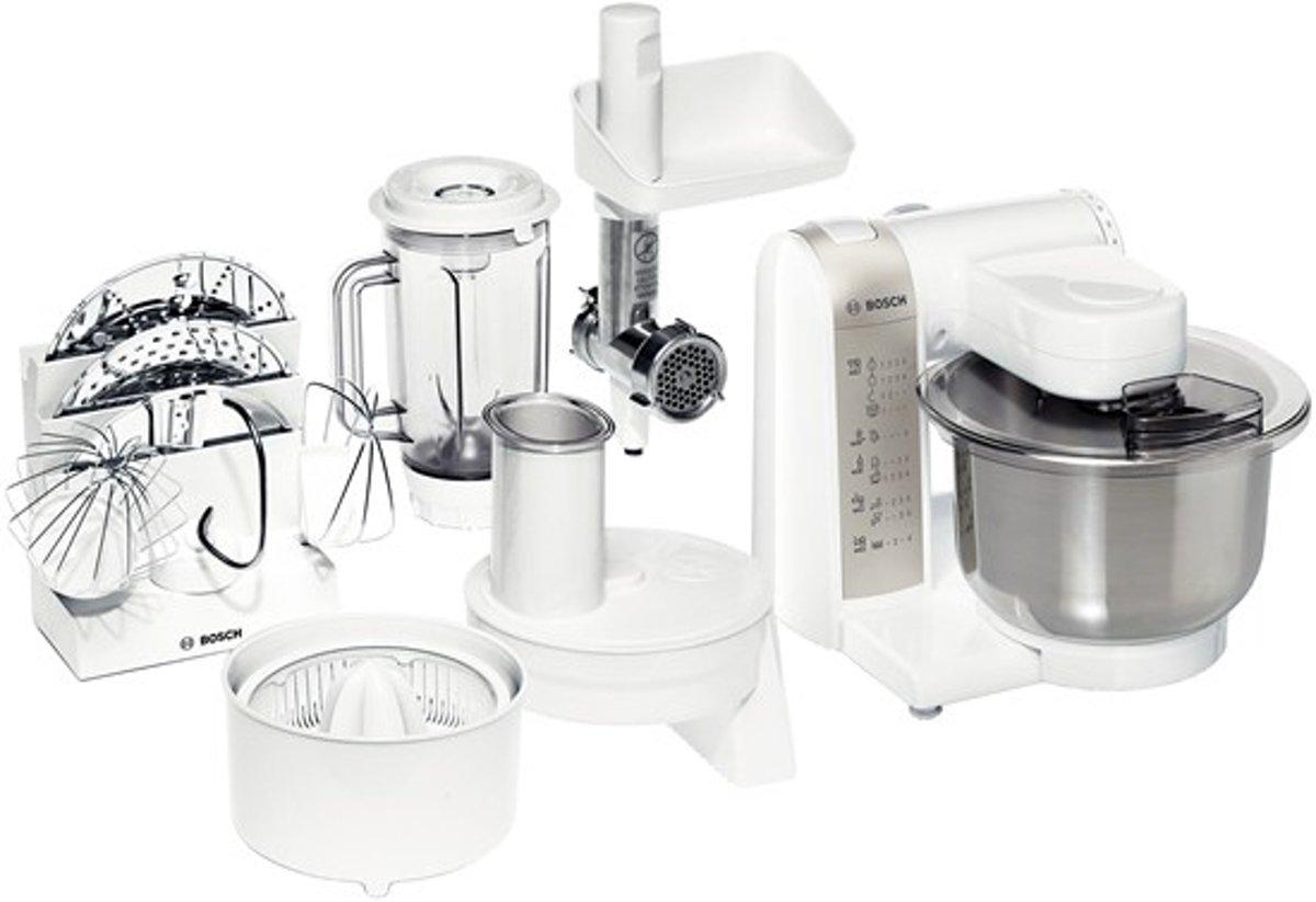 Bosch MUM4880 - Keukenmachine - Wit