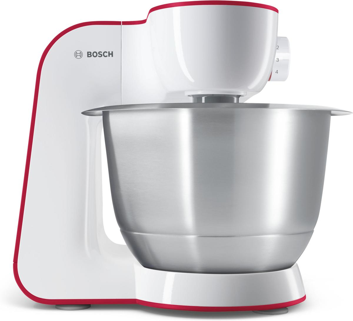 Bosch keukenmachine MUM54R00 - wit/rood
