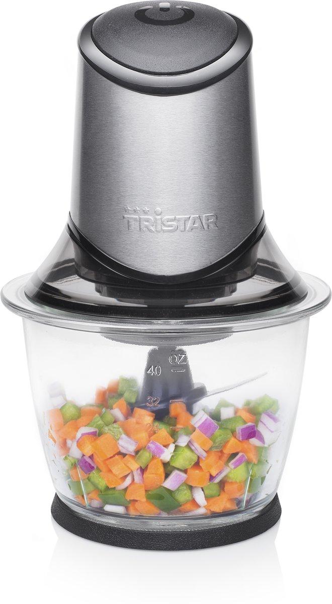 Tristar BL-4019 Hakmolen ? 1200 ml ? Roestvrij Staal