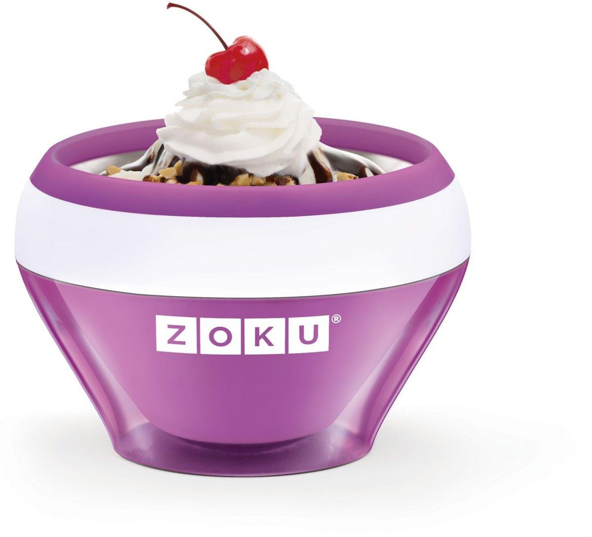 Zoku IJsmachines Ice Cream Maker Paars