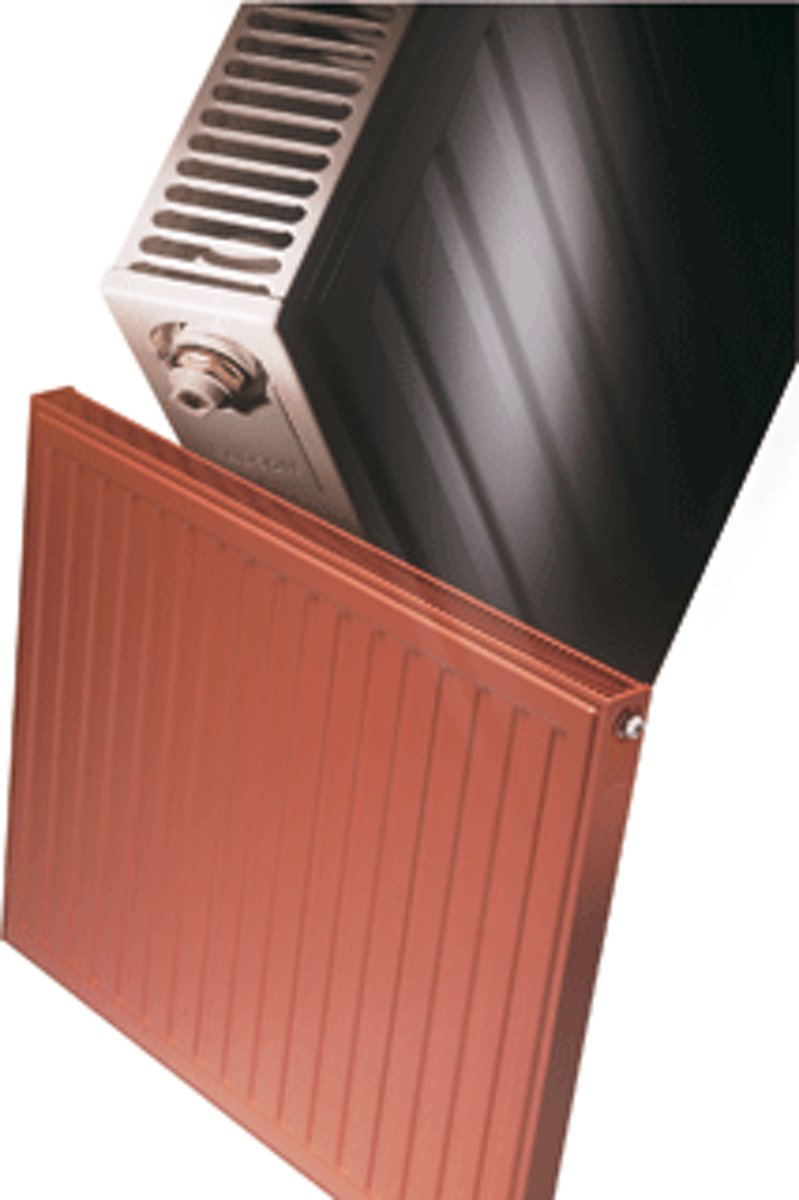 Radson PANEL Compact paneelradiator, staal, wit, (hxlxd) 500x1200x65mm warmte-afgifte