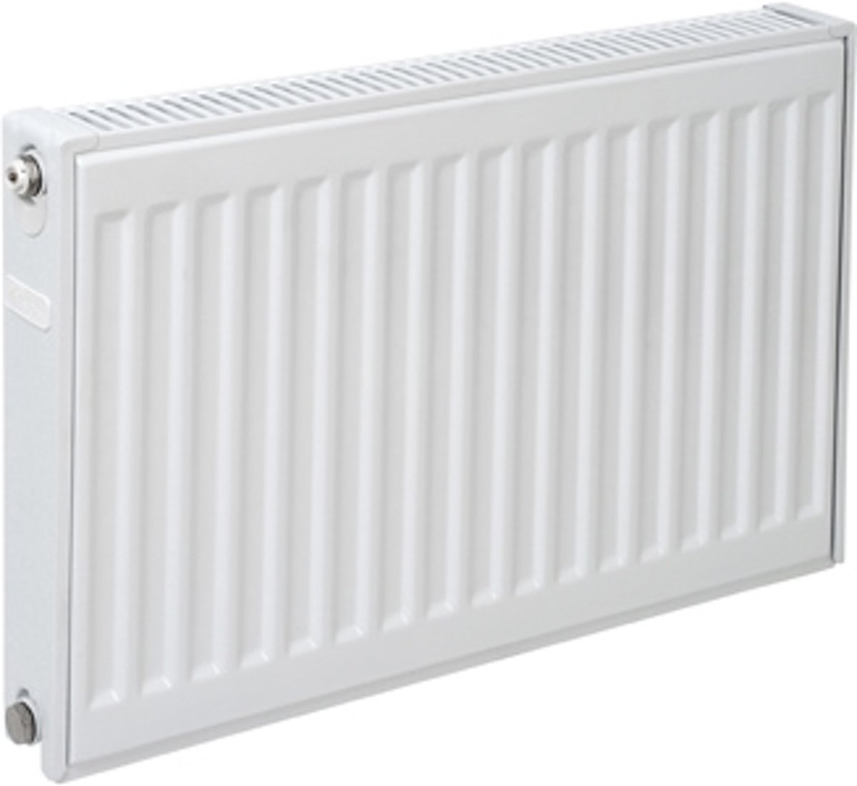 Plieger paneelradiator compact type 11 600x800mm 726W wit
