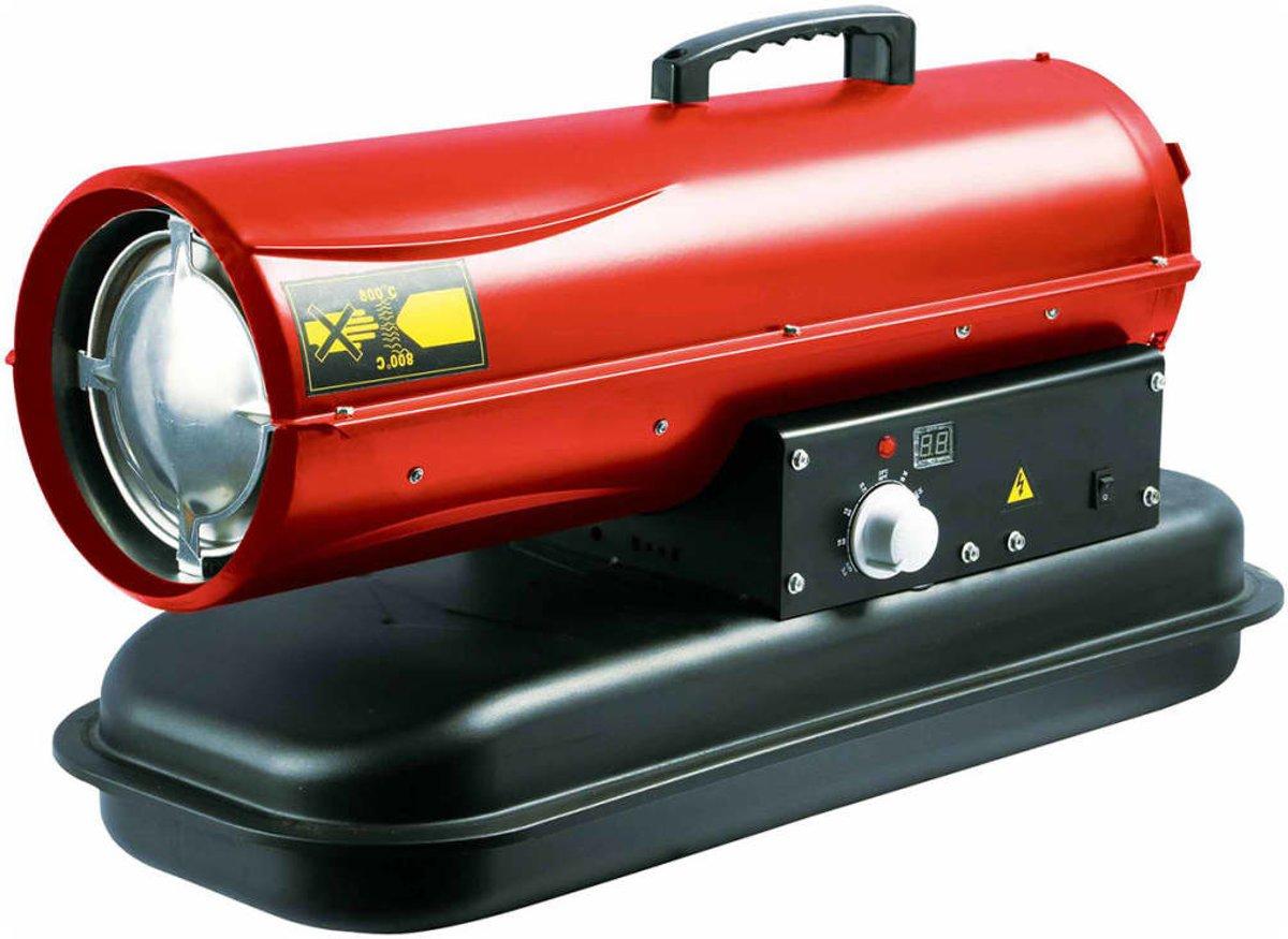 Heteluchtkanon - diesel - 20 KW