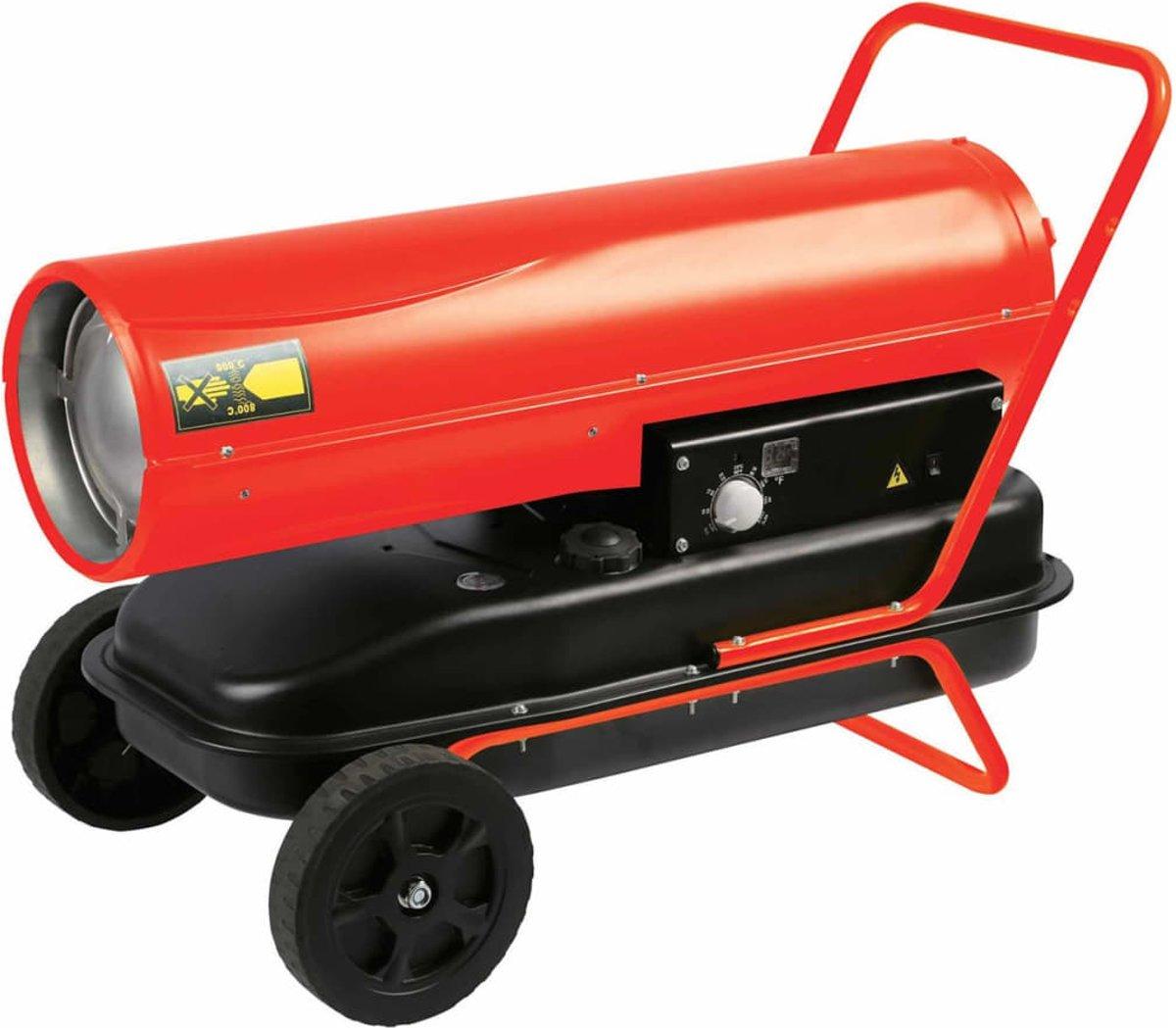 Heteluchtkanon - diesel - 30 KW