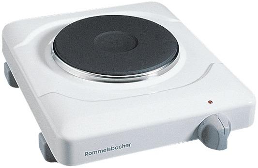 Komfoor THS1090 Elektische kookplaat, 1-pits - Rommelsbacher