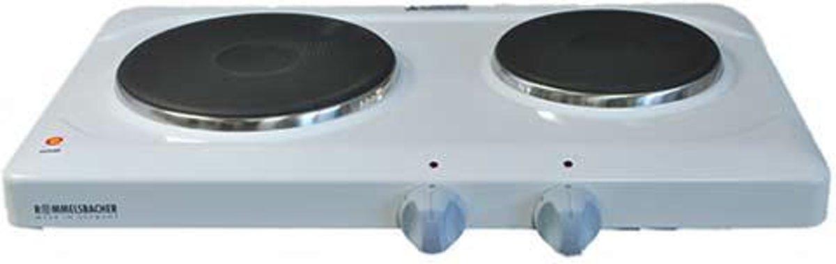 Komfoor THS2590 Elektrische kookplaat, 2-pits - Rommelsbacher