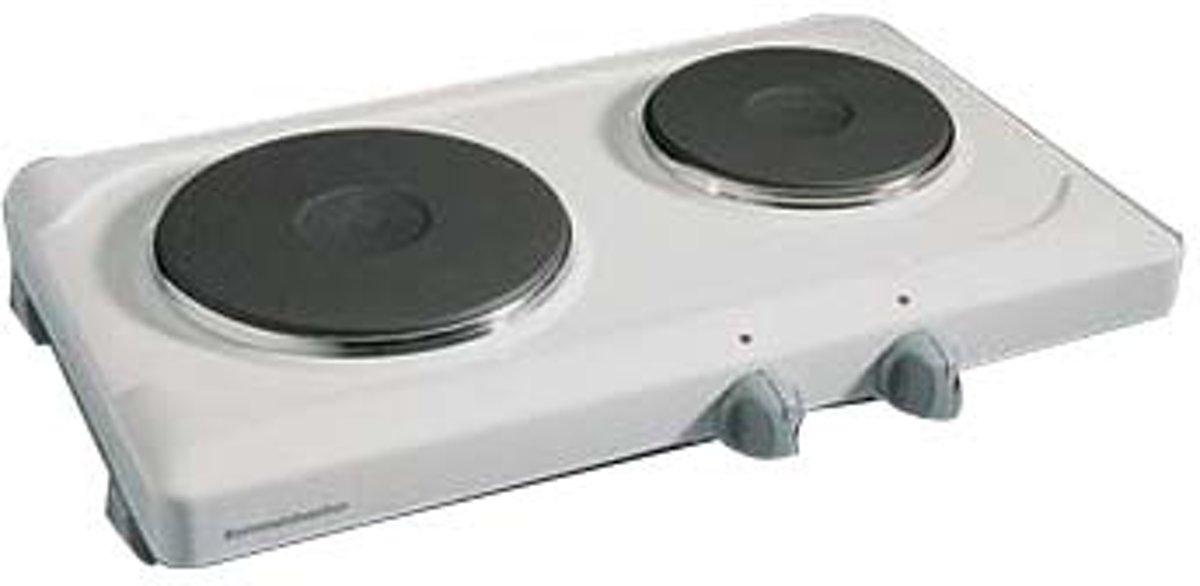 Komfoor THS2015 Elektrische kookplaat, 2-pits - Rommelsbacher