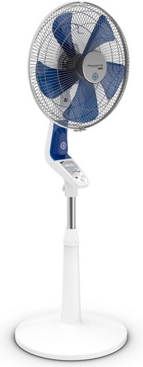 Rowenta Mosquito Silence - Statiefventilator - Wit/blauw