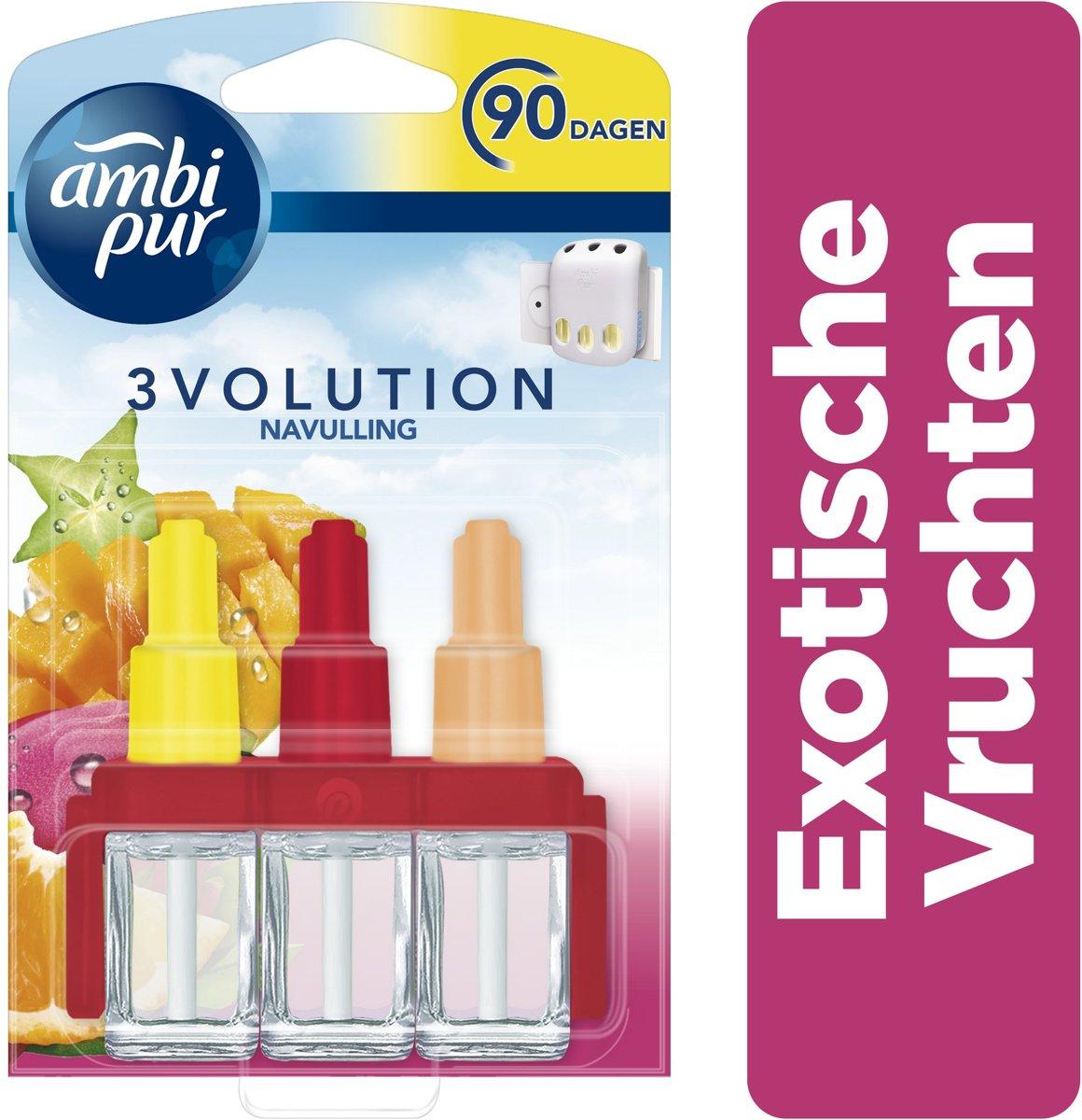 Ambi Pur Luchtverfrisser - 3volution Refill Exotische Vruchten - 20 ml