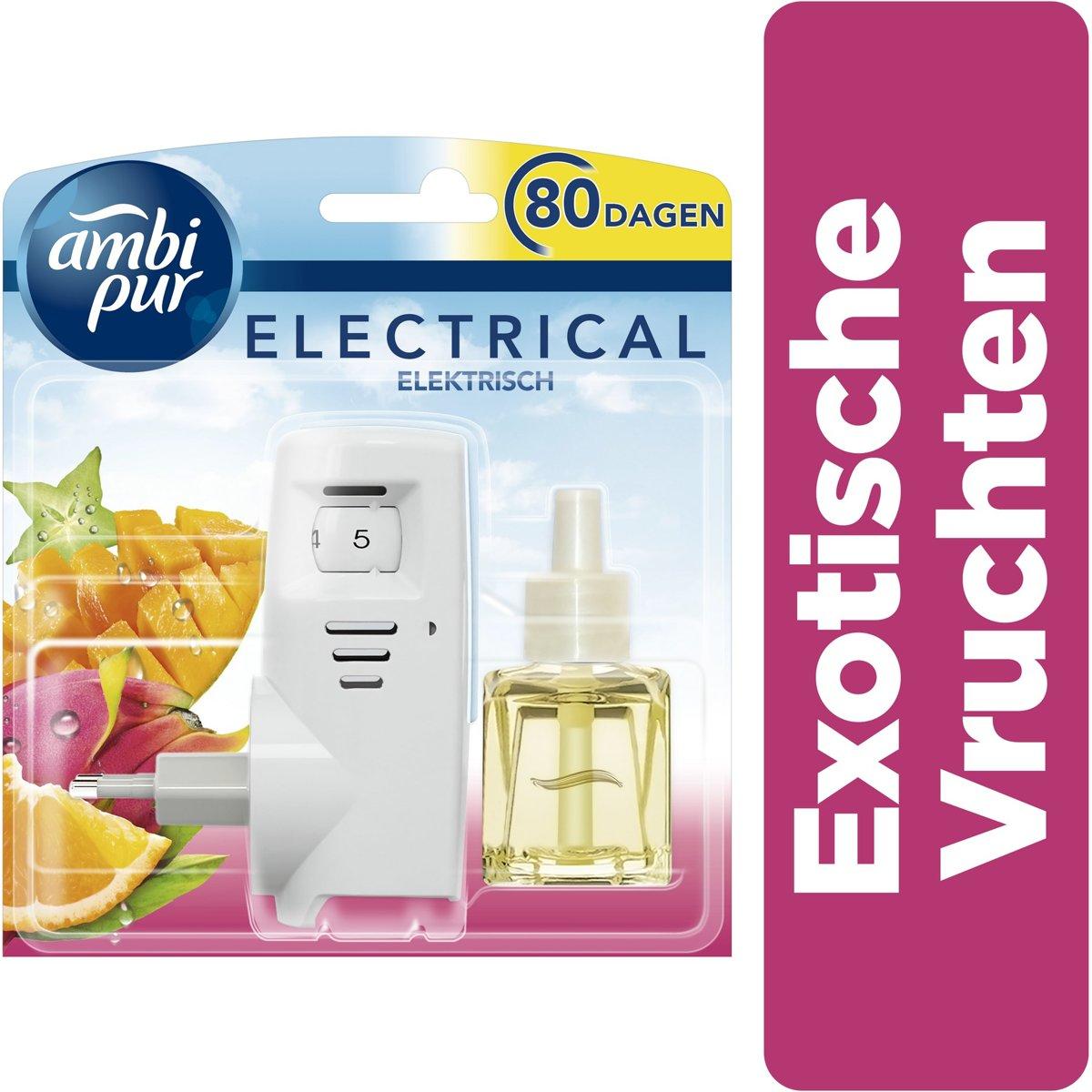 Ambi Pur Luchtverfrisser - Electrical Exotische Starterset - 20 ml