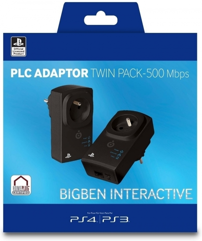 Big Ben PLC Adaptor Twin Pack (500 Mbps)