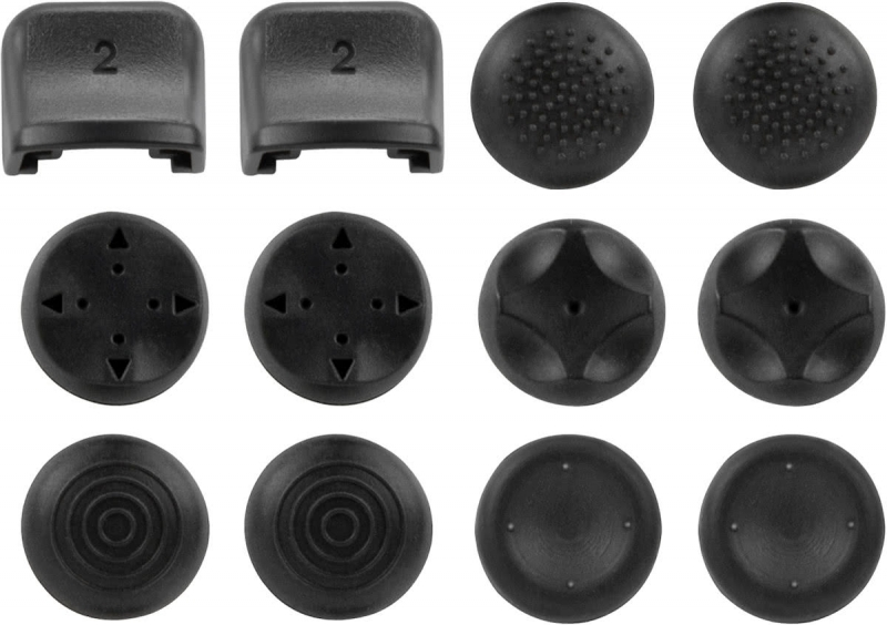 Speedlink Trigger Control Cap Set Gamepad (Add-On Kit) (Black)