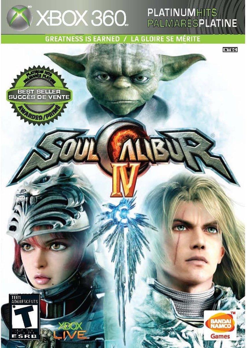 Namco Bandai Games Soul Calibur IV, Xbox 360 Xbox 360 Engels video-game