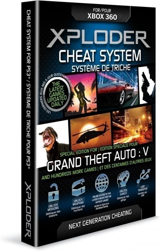 Xploder Cheat System Grand Theft Auto 5