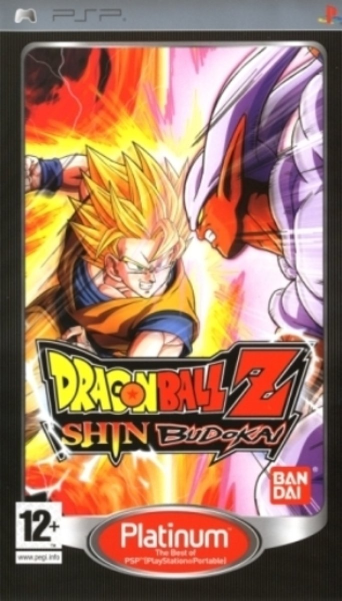 Dragon Ball Z Shin Budokai (platinum)